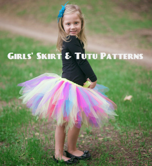 Girls' Skirt & Tutu Patterns