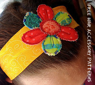 Free Hair Accessory Patterns