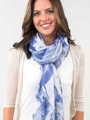 Loop and Tuck Scarf Knot