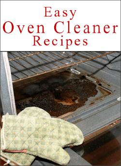 Oven Cleaner Recipe