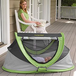 For when you go to the lake/beach/anywhere!. PeaPod Plus Baby Travel Bed…great