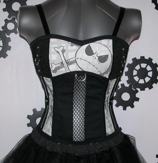 jack skellington corset