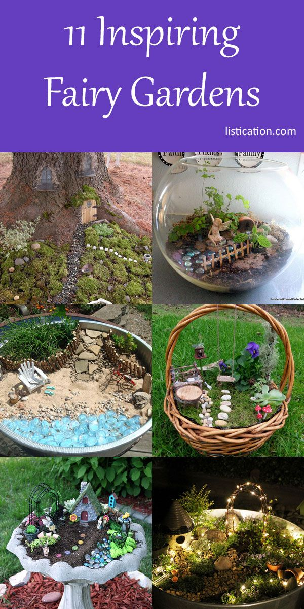 11 Inspiring Fairy Gardens