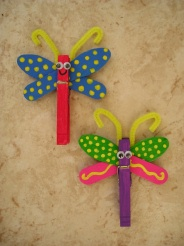 Garden, butterfly, girlie bug themed party ideas