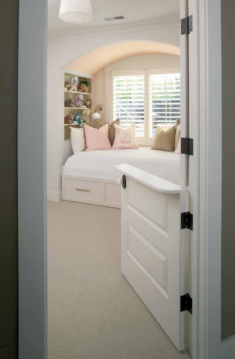 Genius! Half door for kids room Idea
