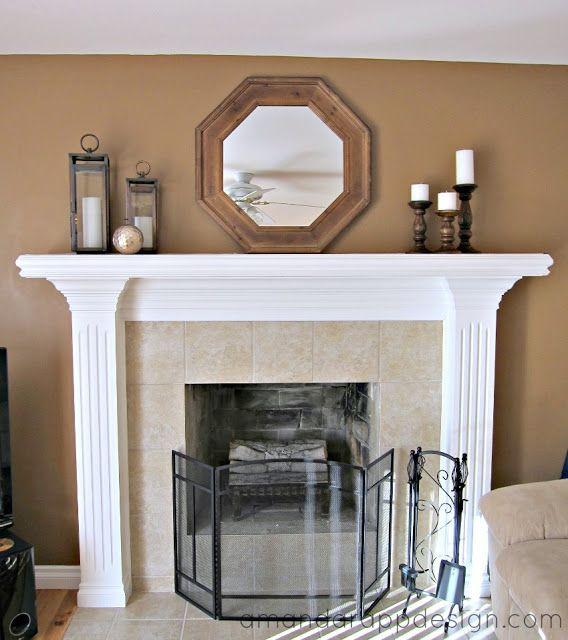 simple mantle decor