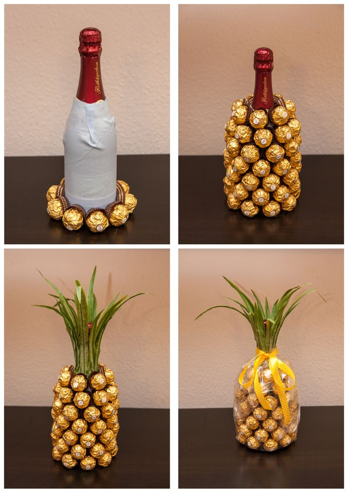 Rocher-sparkling pineapple