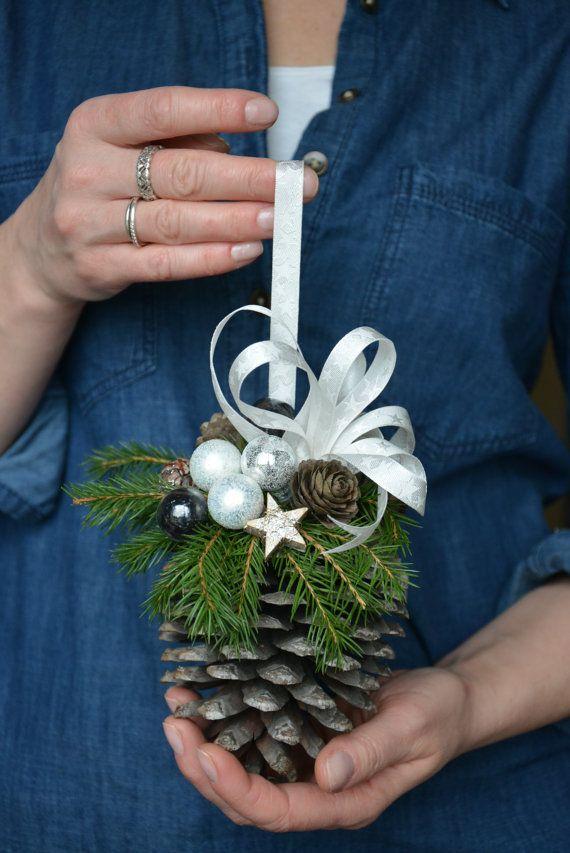 Pine Cone Christmas Ornament Ideas