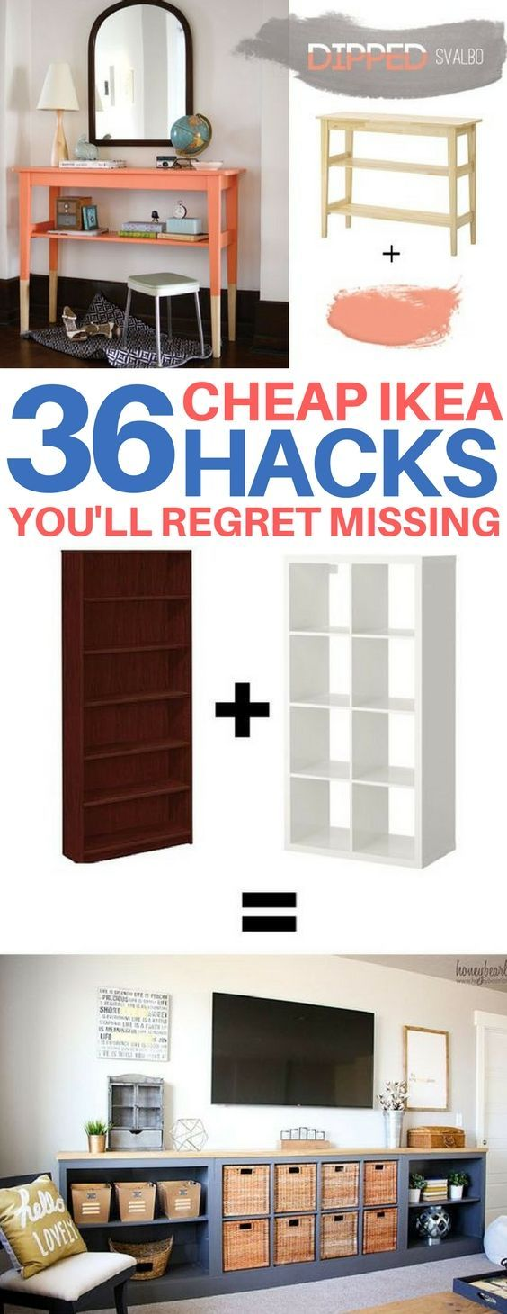 BRILLIANT Ikea hacks