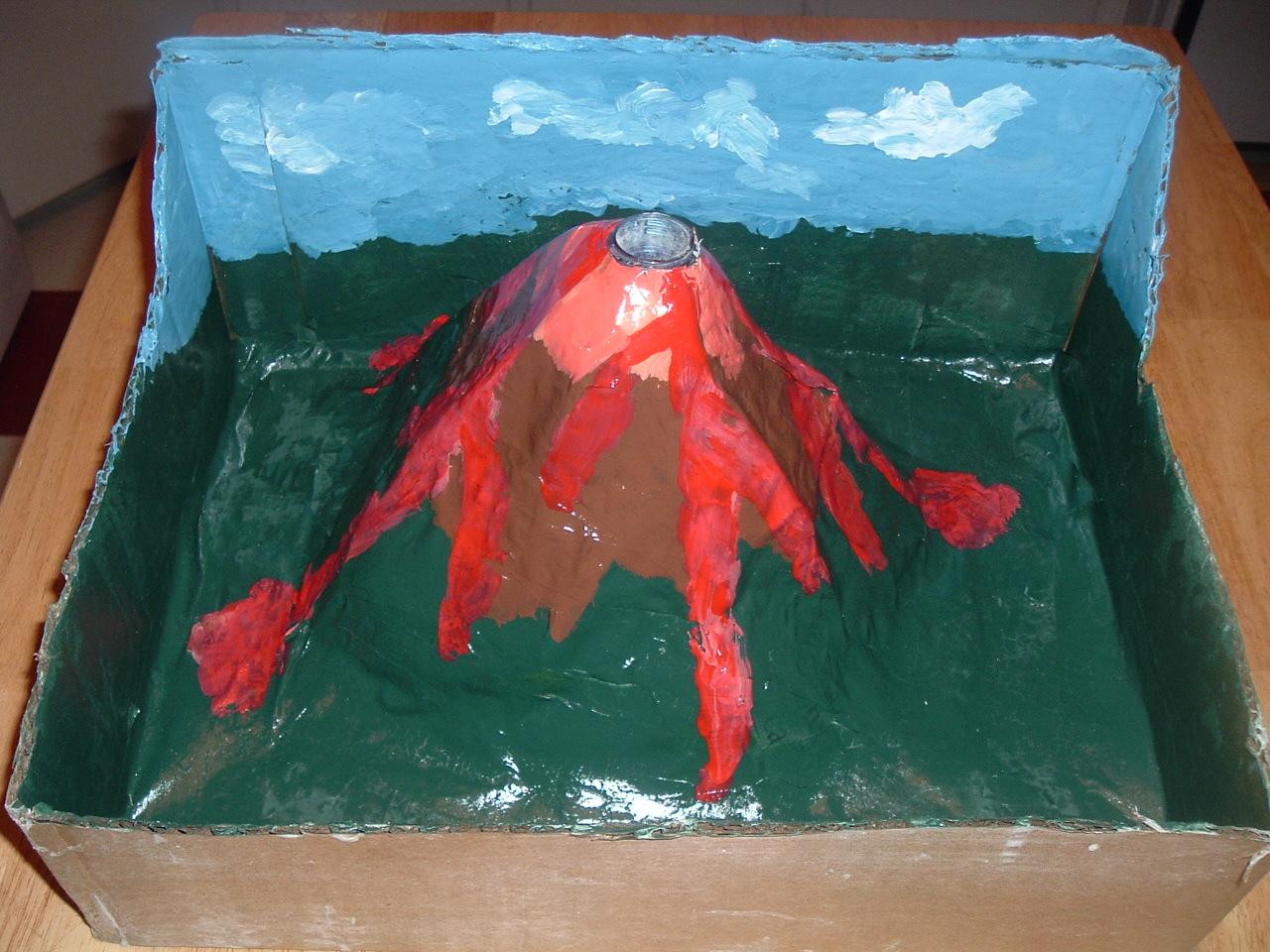 Make A Volcano Project