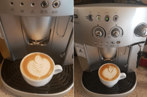 Best Bean to Cup Coffee Machine? Latte Art.