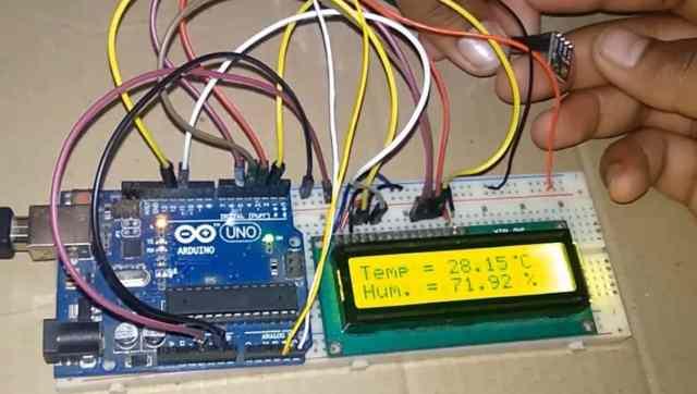 Interfacing SHT3x Humidity & Temperature Sensor with Arduino