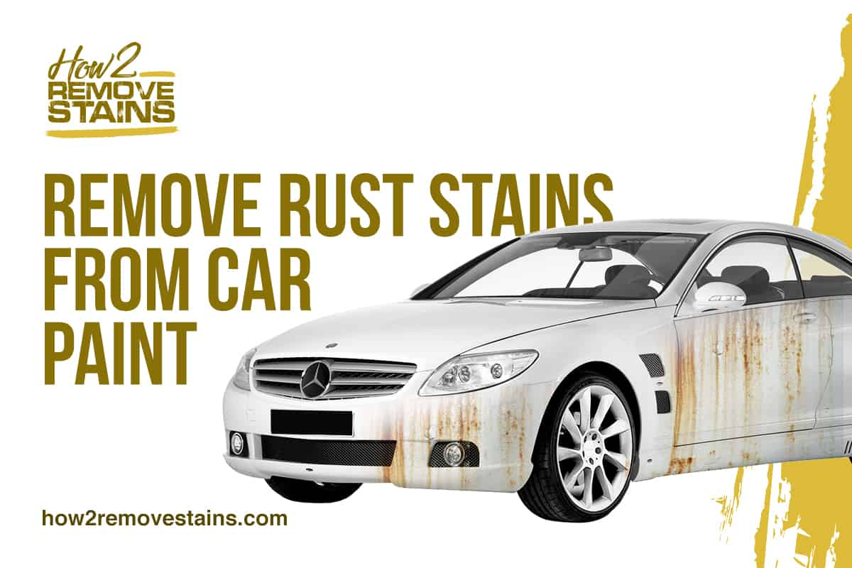 remove rust stains from tile and grout
