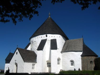 Østerlars Church, established in the 12th century, is the largest of the island's round churches.