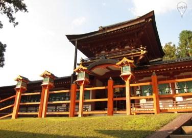 Kasuga-taisha or Kasuga Grand Shrine was established in the 8th century and rebuilt every 20 years until 1863.