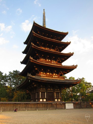The 50-metre pagoda at Kofuku-ji is the second tallest in Japan.