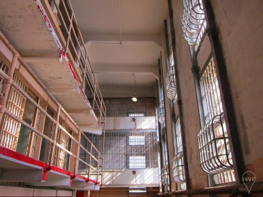 Reserved for the worst-behaving criminals, Block D is the location of the dreaded solitary confinement cells.