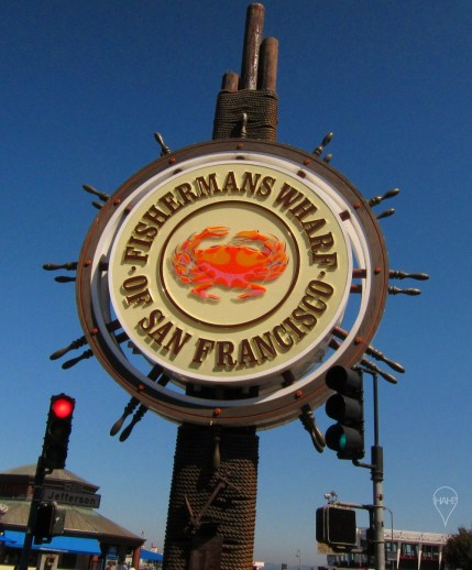 Fisherman's Wharf is world-famous for its seafood and entertainers.