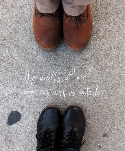 There's literally poetry on the streets in San Francisco.