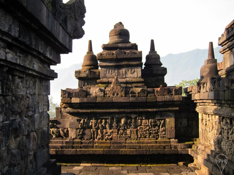Much of present-day Borobudur is the result of restorations carried out in the 20th century.