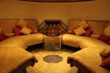 MesaStila's Turkish steam bath, Hammam, has an octagonal resting room