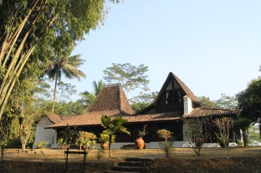Joglo Kudus, a nobleman's house from Kudus village