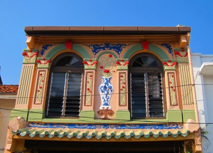 Shop house facade