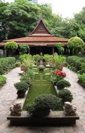 Khmer garden and khon pavilion