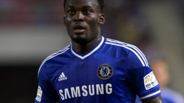 Michael Essien on the field