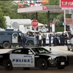 Dallas Police Chief David Browns ays two snipers in elevated positions shot the officers, in what appears to be a coordinated attack.(REUTERS)