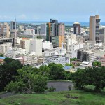The Mauritius capital Port Louis: concern that too much FDI is concentrated in real estate. (Photo/Ashok Prabhakaran/Flickr).