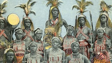 Dahomey Warrior Women