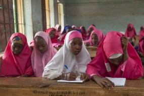 School Girl with Hijab