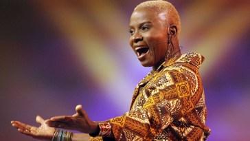 Angélique Kidjo singing