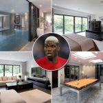 pogba's Cheshire mansion
