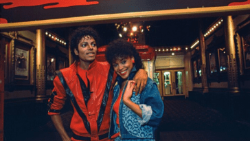 Ola Ray and Micheal Jackson