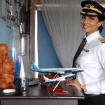 Anny Divya, 30-Year Old Indian pilot becomes world's youngest female commander of a Boeing 777 Plane