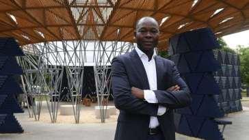 Meet The First African Architect To Design London's Prestigious Serpentine Pavilion!