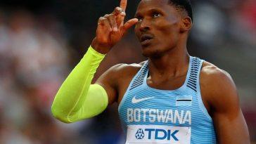 Botswana's Isaac Makwala Barred From 400-Meter At World Championships