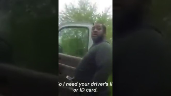 Police Officer Tells Black Driver to Lick His Own Urine During Traffic Stop