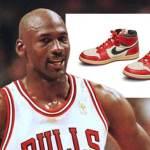 Michael Jordan's signature Air Jordan shoes