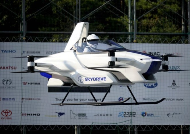 Flying car successfully tested in Japan