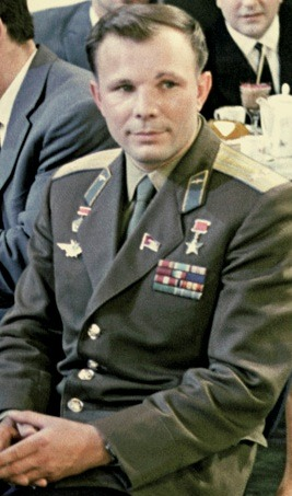 Yuri Gagarin: first human in space/ Wikimedia Commons