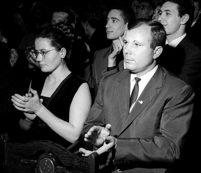 Yuri Gagarin: first human in space/ Wikimedia Commons