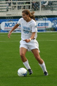 Carolina soccer player