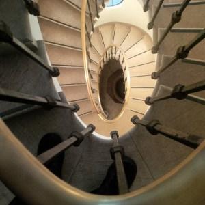 Venice staircase Palazzo Cini