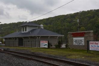 The local railorad station.