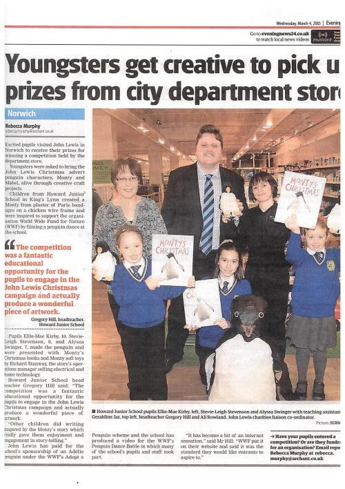 Youngsters get creative to pick up prizes from city department store
