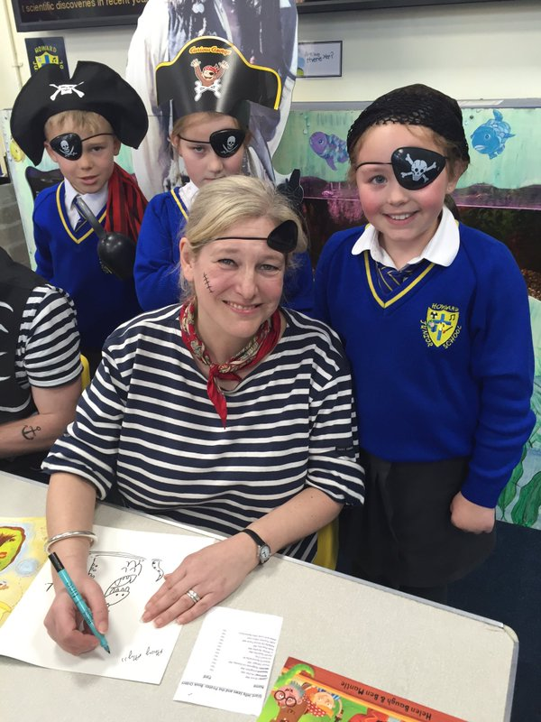 Pirate author day