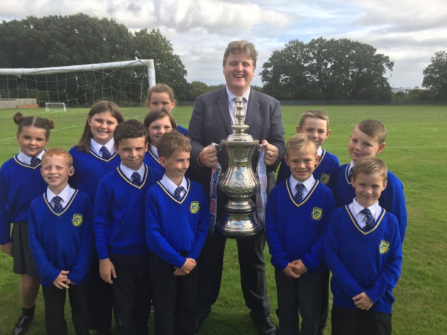 The FA Cup comes to Howard